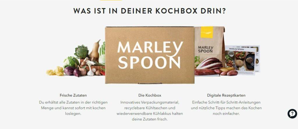 Marley Spoon Gutschein 2