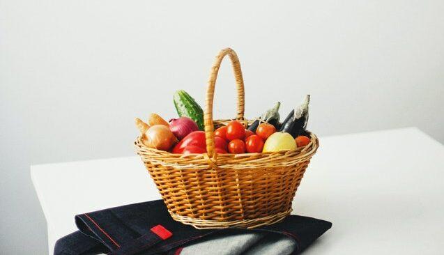 Lebensmittel-Box